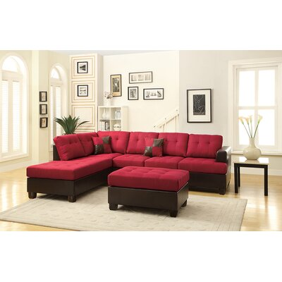 Andover Mills Birchview Reversible Chaise Sectional