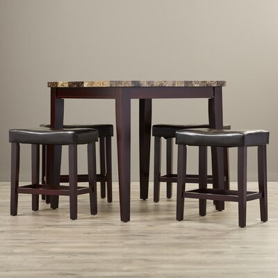 Andover Mills Arline 5 Piece Pub Table Set