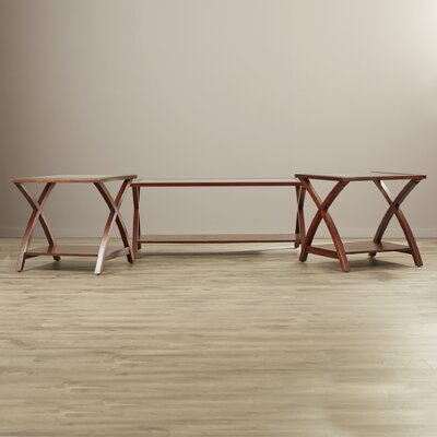 Andover Mills Aberdeen 3 Piece Coffee Table Set