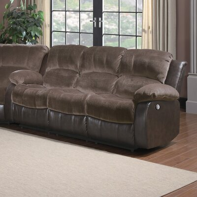 Andover Mills Aldreda Power Double Reclining Sofa