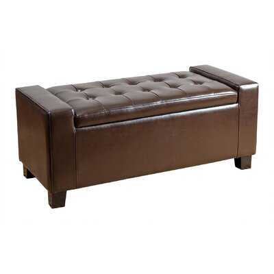 Andover Mills Appletree Storage Ottoman