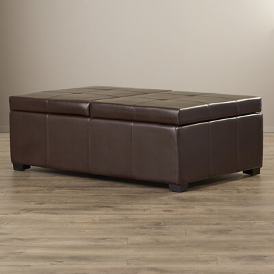 Red Barrel Studio Griffey Upholstered Cocktail Ottoman
