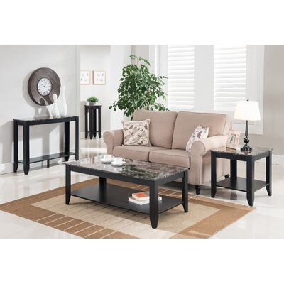 Andover Mills John 4 Piece Coffee Table Set