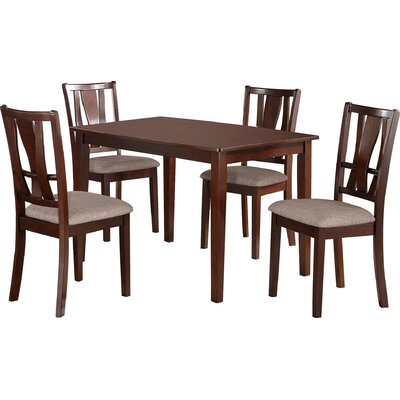 Andover Mills Rogers 5 Piece Dining Set