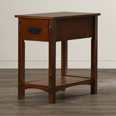 Andover Mills Surrey 1 Drawer End Table