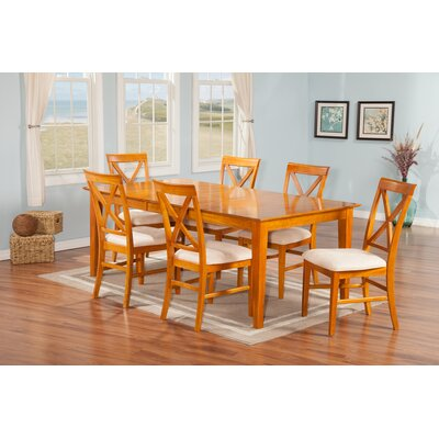Andover Mills Crestwood 7 Piece Dining Set