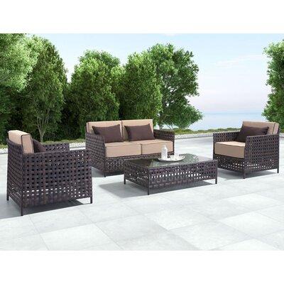 Bay Isle Home Kampou Arm Chair (Set of 2)