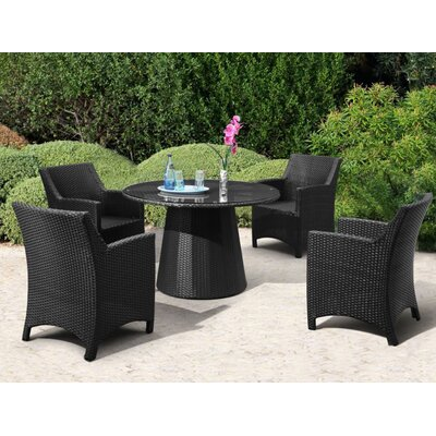 Andover Mills Diana Outdoor Round Dining Table