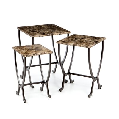 Andover Mills Dana 3 Piece Nesting Tables