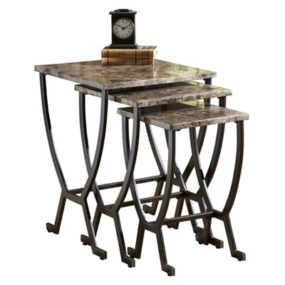 Andover Mills Dana 3 Piece Nesting Tables