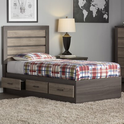 Andover Mills Lawson Twin Captain Bed