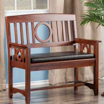 Andover Mills Cider Hill Wood Entryway Bench Reviews