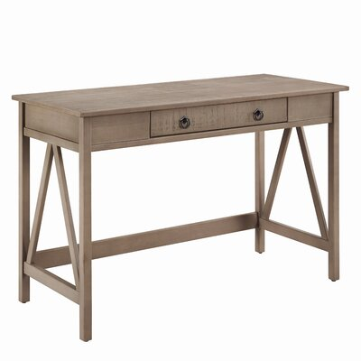Andover Mills Saranac Writing Desk with 1 Drawer