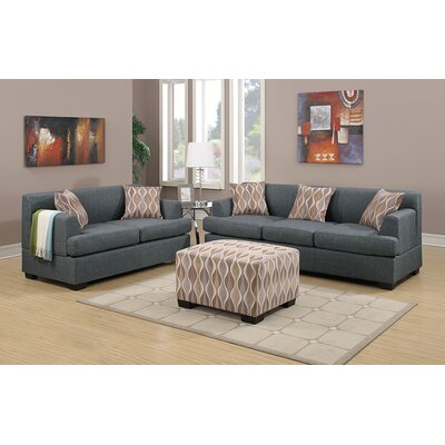 Andover Mills Corporate Sofa and Loveseat Set