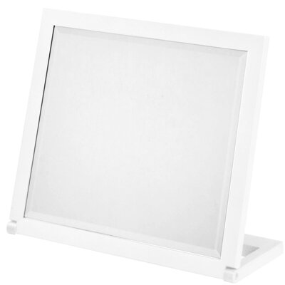 Dcor design free standing folding bathroom travel mirror reviews wayfair uk for Free standing bathroom mirrors