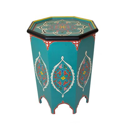 Casablanca Market Tangier Hand-painted Side Table