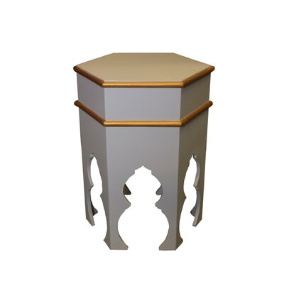 Casablanca Market Taza Hand-painted Side Table