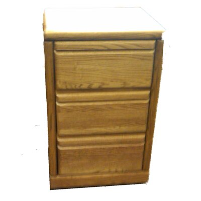 Forest Designs 3-Drawer Fi..