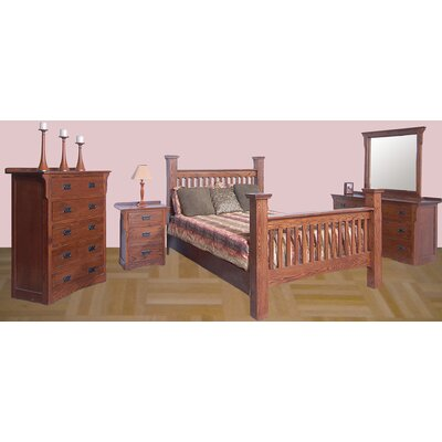 Forest Designs Queen Panel Customizable Bedroom Set