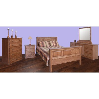 Forest Designs Panel Customizable Bedroom Set