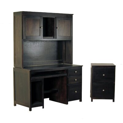Forest Designs 3-Piece Standard Desk Offi..