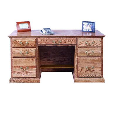 Forest Designs Double Pedestal Executive Desk