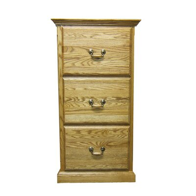 Forest Designs 3-Drawer File Cabinet Image