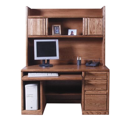 Forest Designs Computer Desk with Hutch