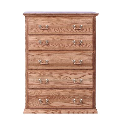 Forest Designs 5 Drawer Ch..