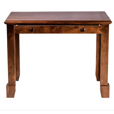 Forest Designs Shaker Writing Desk with D..