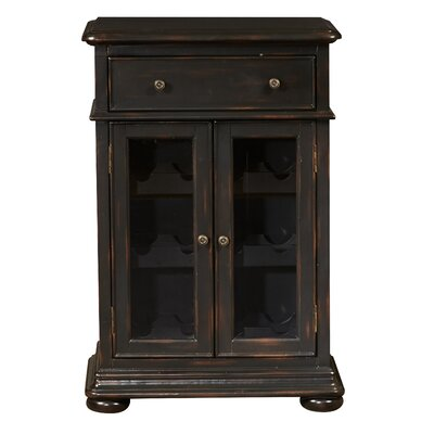 Rosalind Wheeler Chisnell 12 Bottle Floor Wine Cabinet