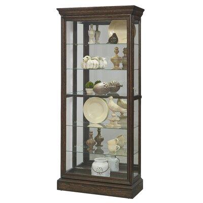 Rosalind Wheeler Redbridge Corner Curio Cabinet