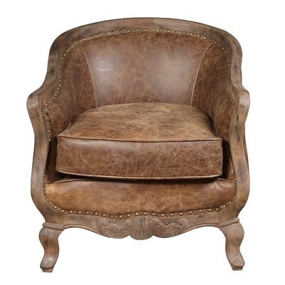 Highway To Home Newton Leather Accent Chair