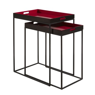 Highway To Home Banner Elk 2 Piece Nesting Tables