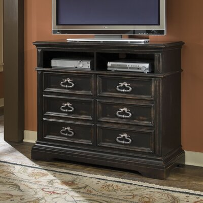 Rosalind Wheeler Nimmons 6 Drawer Media Chest