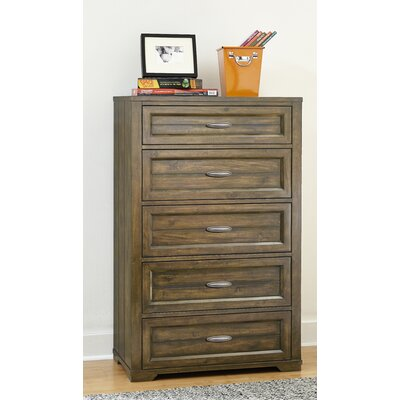 My Home Furnishings Logan 5 Drawer Chest