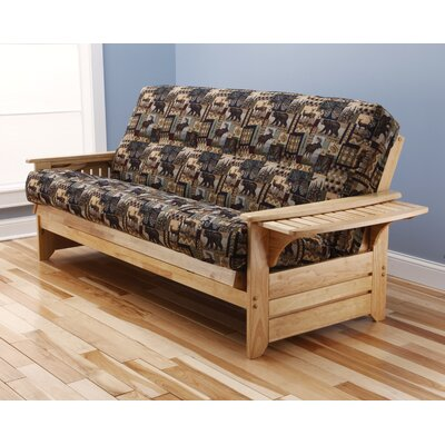 Kodiak Furniture Phoenix Peter's Cabin Futon and Mattress