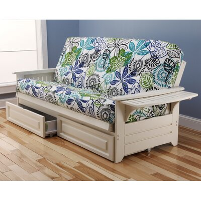 Kodiak Furniture Phoenix Bali Storage Drawers Futon and Mattress