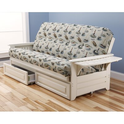 Kodiak Furniture Phoenix Boating Storage Drawers Futon and Mattress