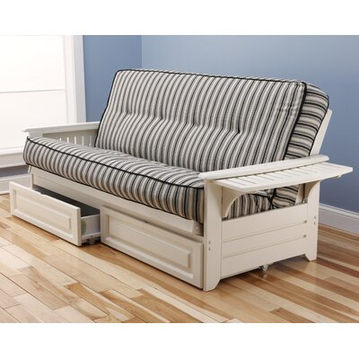 Kodiak Furniture Phoenix Cozumel Storage Drawers Futon and Mattress