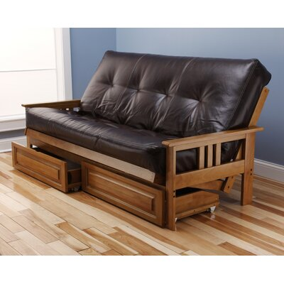 Kodiak Furniture Monterey Oregon Trail Storage Drawers Futon and Mattress