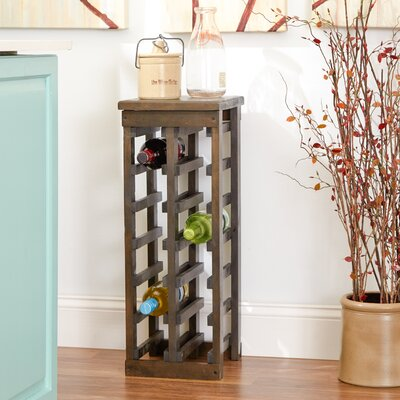 Three Posts Dalmatia 12 Bottle Floor Wine Rack
