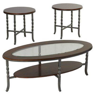 Three Posts Vance 3 Piece Coffee Table Set