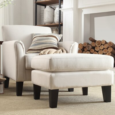 Three Posts Oliver Modern Arm Chair and O..