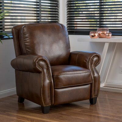 Three Posts Tully Faux Leather Recliner