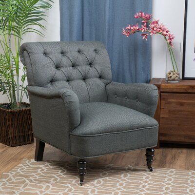 Three Posts Ellery Tufted Club Chair Image