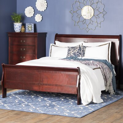 Three Posts Atlasburg Queen Sleigh Bed