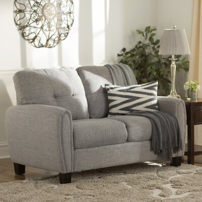 Three Posts Derry Upholstered Loveseat