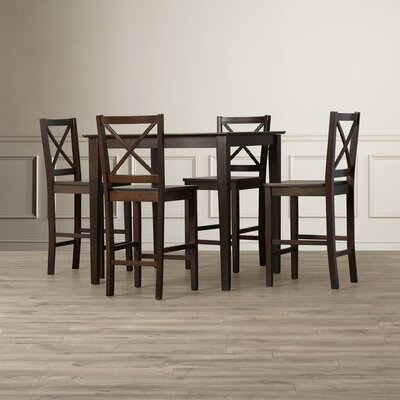 Three Posts Lamantia 5 Piece Counter Height Dining Set