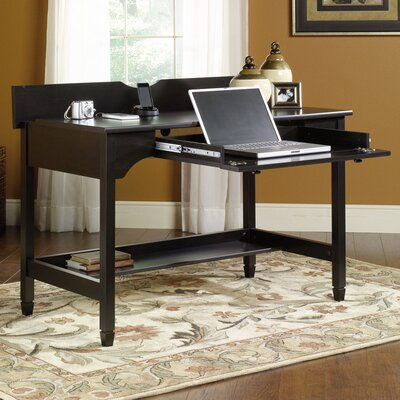 Three Posts Lamantia Computer Desk with Keyboard Tray